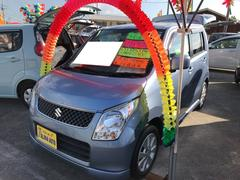 沖縄の中古車 スズキ ワゴンR 車両価格 59万円 リ済込 平成21年 5.9万K ブリーズブルーメタリック