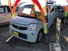 沖縄の中古車 日産 モコ 車両価格 59万円 リ済込 平成23年 7.2万K アロマティックアクアM
