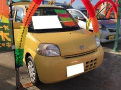 沖縄の中古車 ダイハツ エッセ 車両価格 35万円 リ済込 平成22年 7.7万K サンシャインイエロー