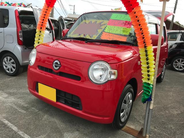 沖縄の中古車 ダイハツ ミラココア 車両価格 59万円 リ済込 平成22年 6.9万km レッド