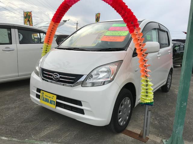 沖縄の中古車 ダイハツ ムーヴ 車両価格 45万円 リ済込 平成21年 6.2万km ホワイト
