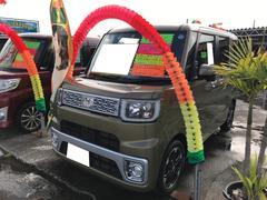 ウェイクG 軽自動車 LED グリーン CVT 保証付 AC