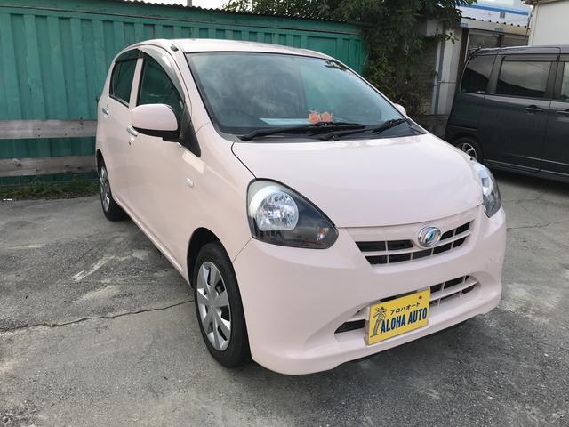 沖縄の中古車 ダイハツ ミライース 車両価格 48万円 リ済込 平成24年 7.0万km ピンク