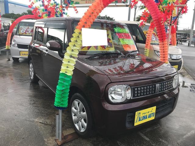 沖縄県の中古車ならアルトラパン 10thアニバーサリーリミテッド AW AC スマートキー