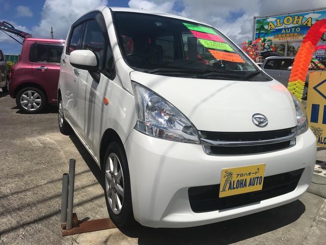 沖縄の中古車 ダイハツ ムーヴ 車両価格 55万円 リ済別 2012(平成24)年 7.0万km ホワイト