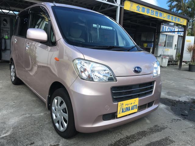 沖縄の中古車 スバル ルクラ 車両価格 55万円 リ済別 2011(平成23)年 6.1万km ピンクM