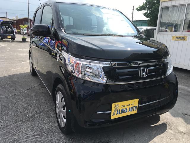 沖縄の中古車 ホンダ N-WGN 車両価格 79万円 リ済別 2016(平成28)年 5.7万km ブラック