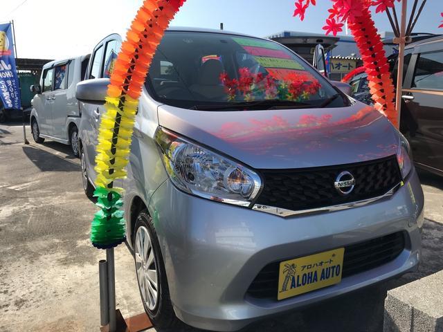 沖縄の中古車 日産 デイズ 車両価格 62万円 リ済別 2015(平成27)年 5.1万km シルバーM