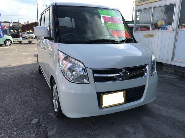 沖縄の中古車 スズキ パレット 車両価格 59万円 リ済別 2011(平成23)年 7.6万km パールホワイト