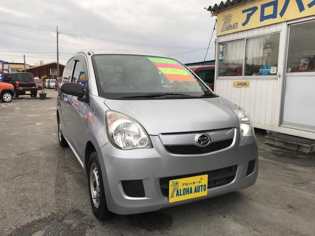 沖縄の中古車 ダイハツ ミラ 車両価格 29万円 リ済別 2012(平成24)年 7.3万km シルバーM