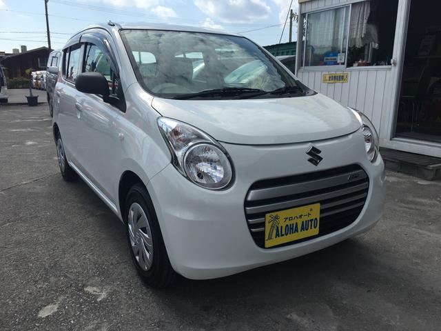 沖縄の中古車 スズキ アルトエコ 車両価格 47万円 リ済別 2014(平成26)年 5.5万km ホワイト