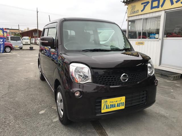 沖縄の中古車 日産 モコ 車両価格 65万円 リ済別 2013(平成25)年 5.7万km ブラウンM
