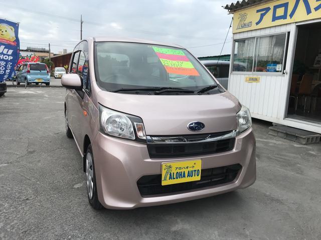沖縄の中古車 スバル ステラ 車両価格 57万円 リ済別 2013(平成25)年 5.9万km ピンクM