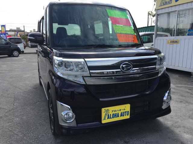 沖縄県豊見城市の中古車ならタント カスタムX