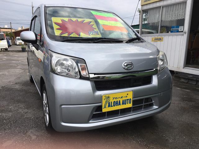 沖縄の中古車 ダイハツ ムーヴ 車両価格 59万円 リ済別 2013(平成25)年 5.6万km シルバーM