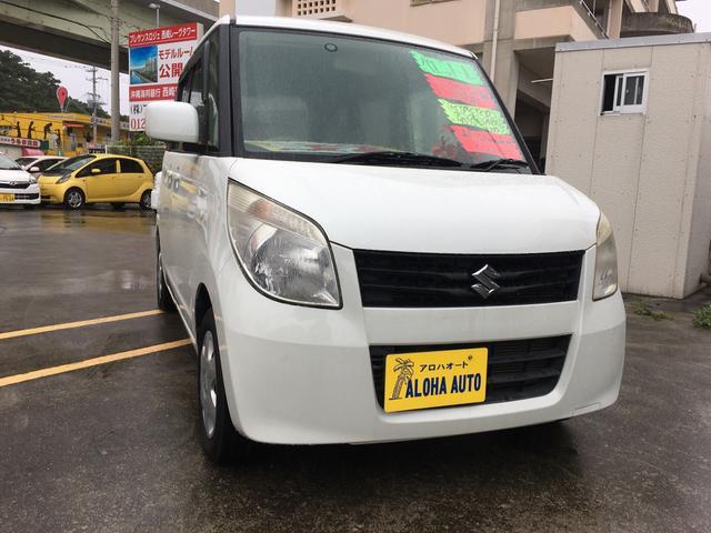 沖縄の中古車 スズキ パレット 車両価格 55万円 リ済別 2011(平成23)年 6.2万km パールホワイト
