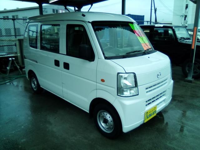 沖縄の中古車 マツダ スクラム 車両価格 52万円 リ済別 2014(平成26)年 8.4万km ホワイト