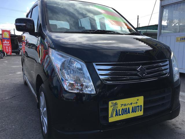 沖縄の中古車 スズキ ワゴンR 車両価格 47万円 リ済別 2012(平成24)年 7.1万km ブラックM
