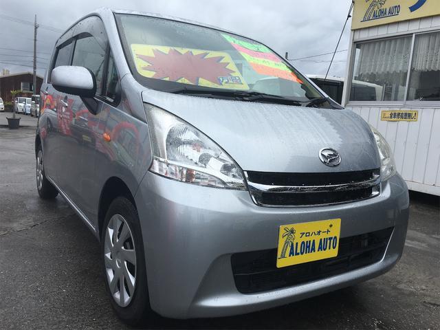 沖縄の中古車 ダイハツ ムーヴ 車両価格 55万円 リ済別 2013(平成25)年 5.8万km シルバーM