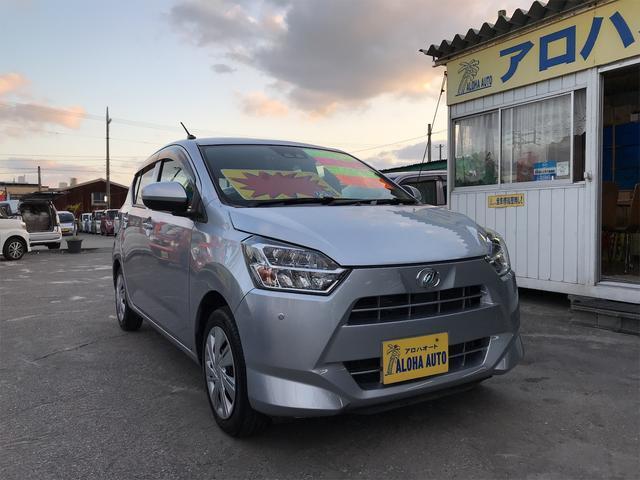 沖縄県の中古車ならミライース X SAIII アイドリングストップ/LEDライト