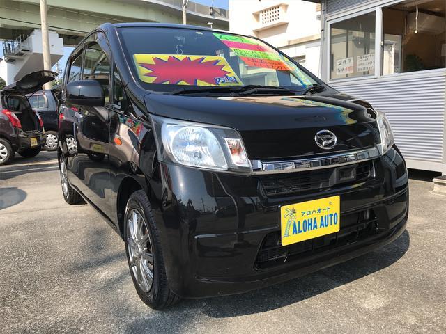 沖縄の中古車 ダイハツ ムーヴ 車両価格 49万円 リ済別 2014(平成26)年 7.0万km ブラックM