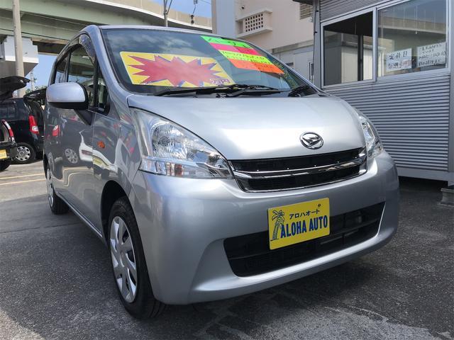 沖縄の中古車 ダイハツ ムーヴ 車両価格 49万円 リ済別 2012(平成24)年 5.6万km シルバーM
