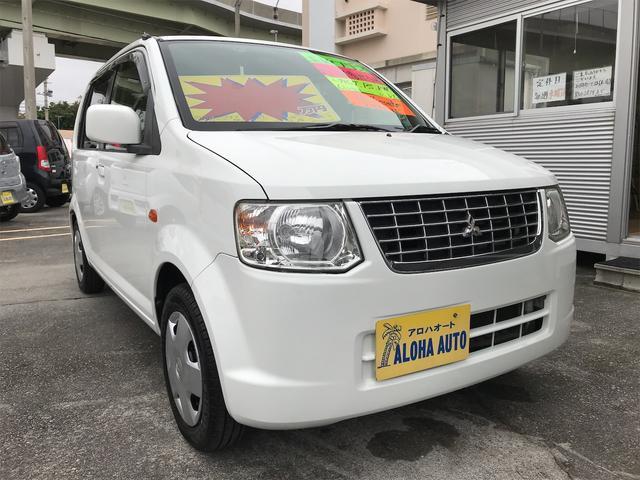 沖縄の中古車 三菱 eKワゴン 車両価格 33万円 リ済別 2012(平成24)年 7.0万km ホワイト