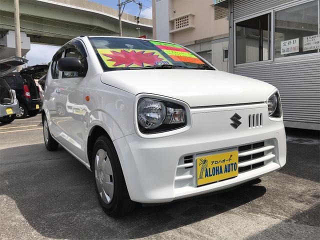 沖縄の中古車 スズキ アルト 車両価格 47万円 リ済別 2016(平成28)年 7.2万km ホワイト