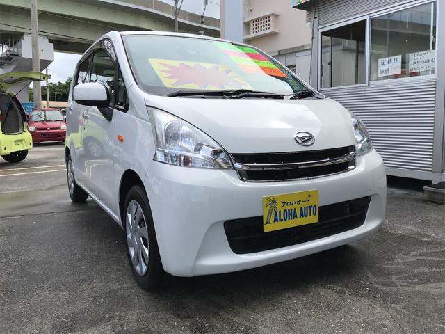 沖縄の中古車 ダイハツ ムーヴ 車両価格 49万円 リ済別 2012(平成24)年 6.5万km ホワイト