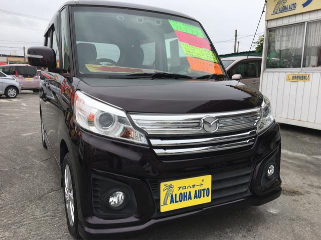 沖縄県の中古車ならフレアワゴンカスタムスタイル XG