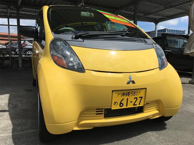 沖縄の中古車 三菱 アイ 車両価格 29万円 リ済別 2009(平成21)年 8.3万km イエロー
