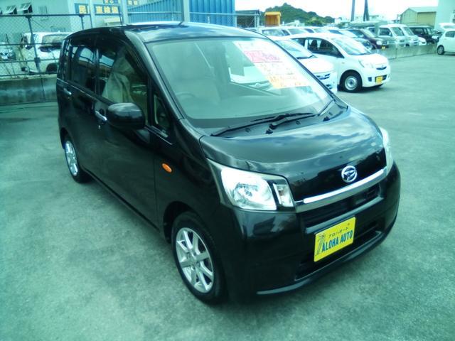 沖縄の中古車 ダイハツ ムーヴ 車両価格 59万円 リ済別 2013(平成25)年 4.0万km ブラックM