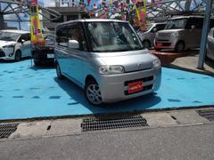 沖縄の中古車 ダイハツ タント 車両価格 42万円 リ済別 平成18年 6.1万K シルバー