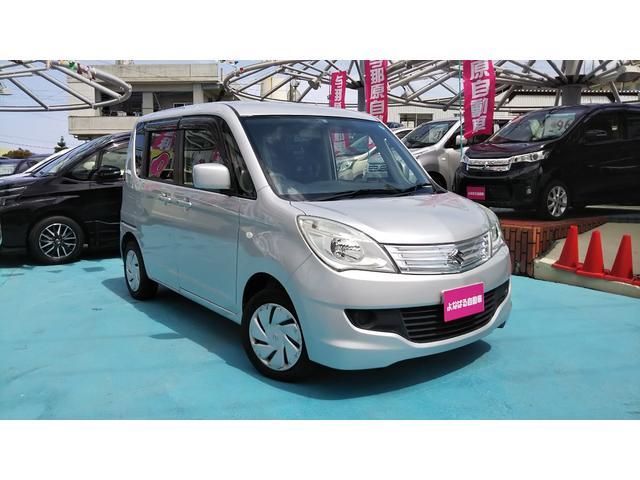 沖縄の中古車 スズキ ソリオ 車両価格 39万円 リ済別 平成24年 8.4万km シルバー