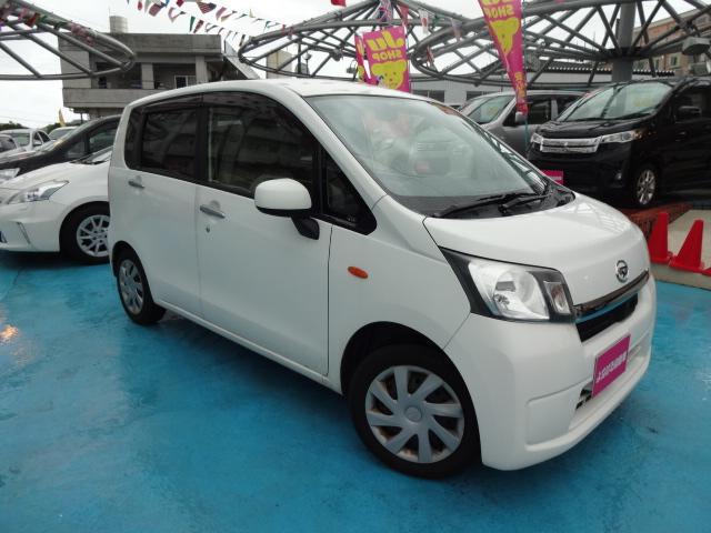 沖縄の中古車 ダイハツ ムーヴ 車両価格 39万円 リ済別 平成25年 8.5万km ホワイト