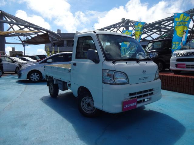 沖縄の中古車 ダイハツ ハイゼットトラック 車両価格 29万円 リ済別 平成20年 9.6万km ホワイト
