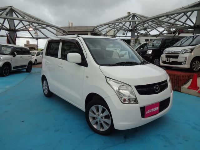 沖縄の中古車 マツダ AZワゴン 車両価格 31万円 リ済別 平成21年 8.2万km スペリアホワイト
