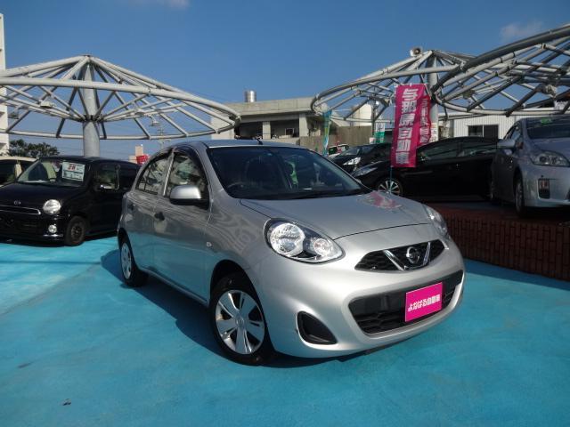 沖縄の中古車 日産 マーチ 車両価格 46万円 リ済別 平成25年 5.6万km シルバー