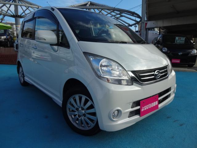 沖縄の中古車 ダイハツ ムーヴ 車両価格 31万円 リ済別 平成21年 7.1万km パールIII