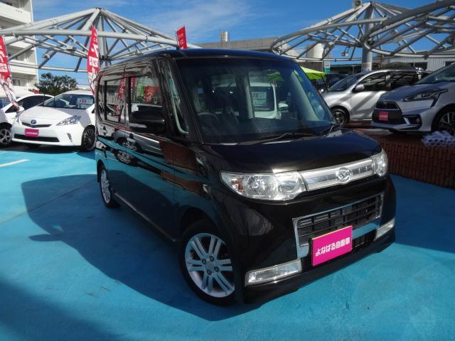 沖縄の中古車 ダイハツ タント 車両価格 39万円 リ済別 2009(平成21)年 9.9万km ブラックM