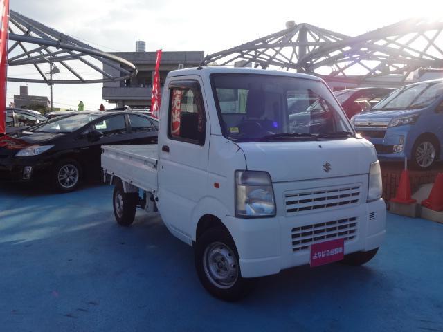 沖縄の中古車 スズキ キャリイトラック 車両価格 39万円 リ済別 平成24年 14.9万km ホワイト