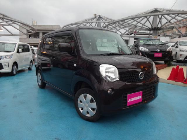沖縄の中古車 日産 モコ 車両価格 49万円 リ済込 2013(平成25)年 4.6万km ブラウン