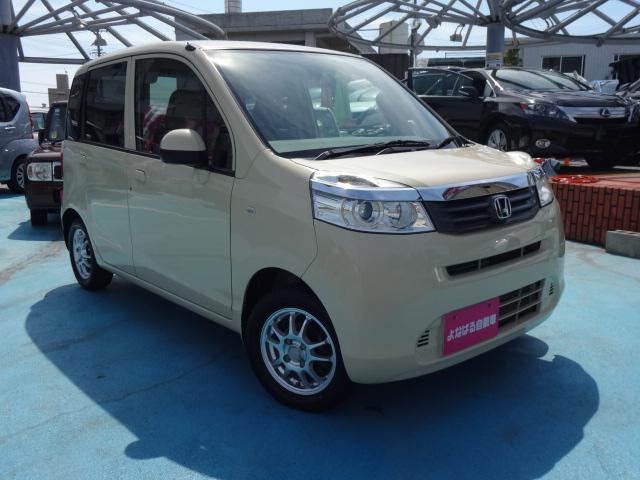沖縄の中古車 ホンダ ライフ 車両価格 39万円 リ済別 2012(平成24)年 6.6万km バニラクレム