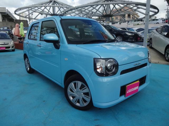 沖縄県の中古車ならミラトコット L SAIII付 純正CD AUX