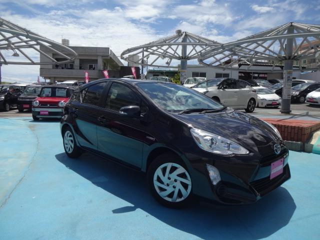 沖縄県の中古車ならアクア S 社外ナビ ETC スマートキー