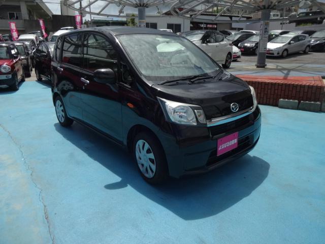 沖縄の中古車 ダイハツ ムーヴ 車両価格 49万円 リ済別 2013(平成25)年 6.5万km ブラック