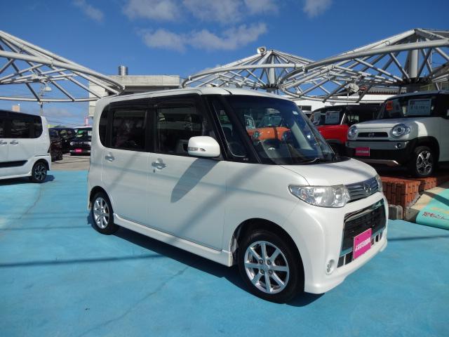 沖縄県の中古車ならタント カスタムX オーディオ アルミ