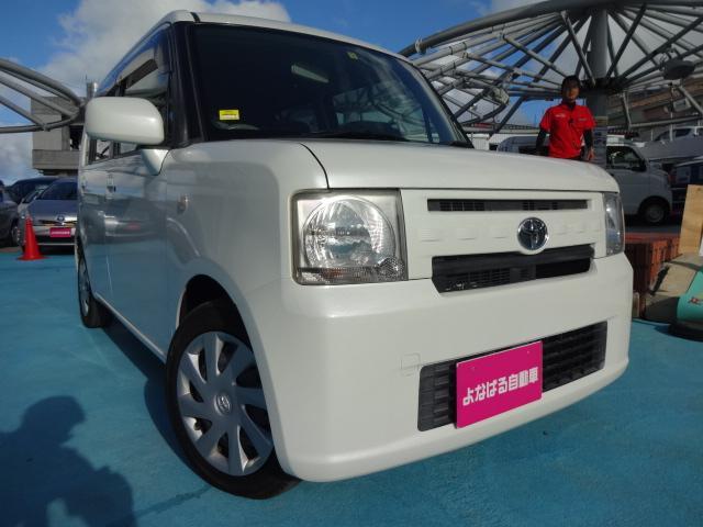 沖縄の中古車 トヨタ ピクシススペース 車両価格 49万円 リ済別 2012(平成24)年 2.1万km パールホワイトIII