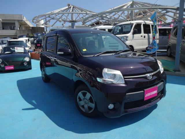 沖縄の中古車 トヨタ シエンタ 車両価格 53万円 リ済別 2012(平成24)年 8.6万km ブラウン