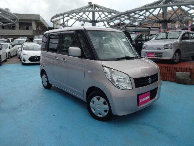 沖縄の中古車 スズキ パレット 車両価格 39万円 リ済別 2010(平成22)年 6.6万km ピンク